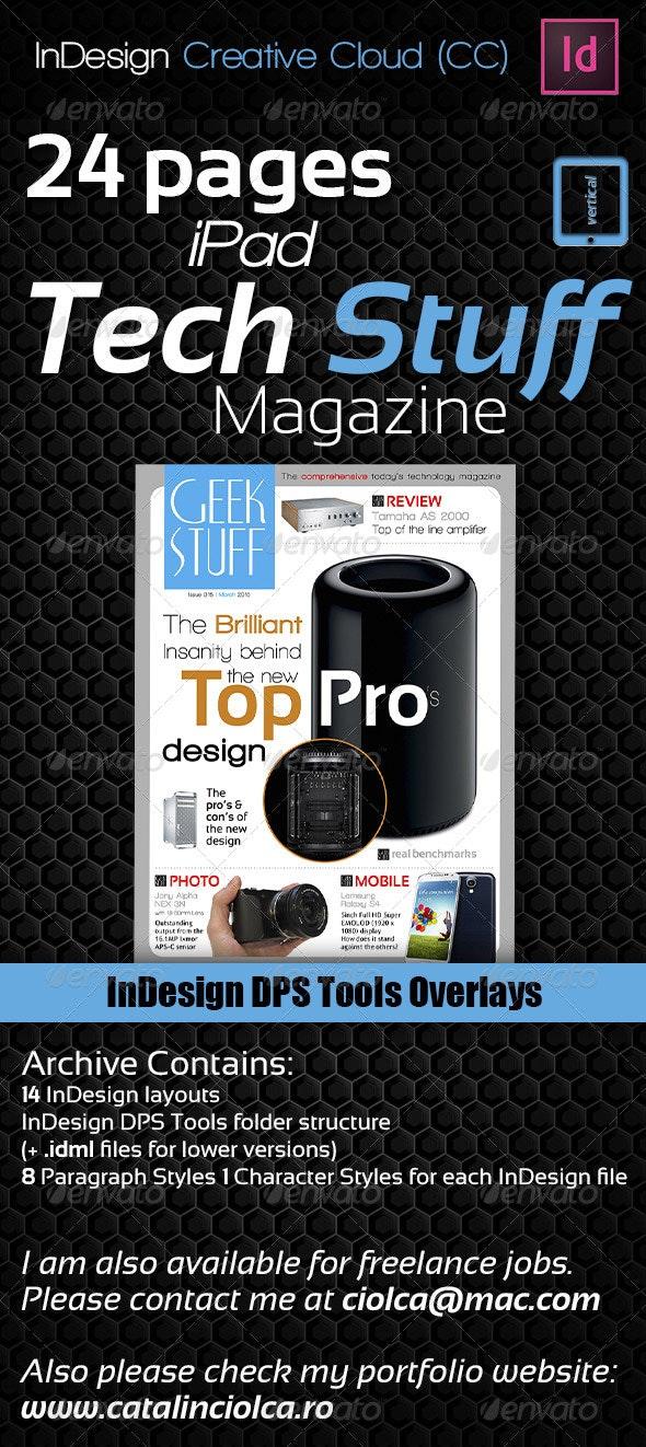 24 Pages iPad Tech Stuff Magazine - ePublishing