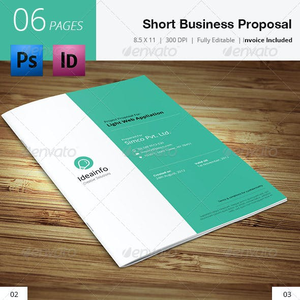Short & Quick Business Proposal