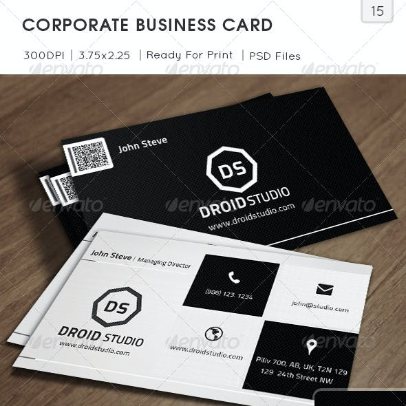 Corporate Business Card v15