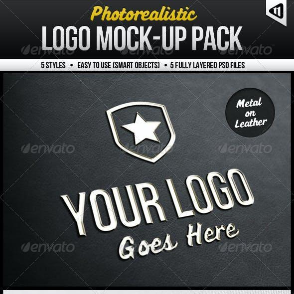 Photorealistic Logo Mock-Up Pack