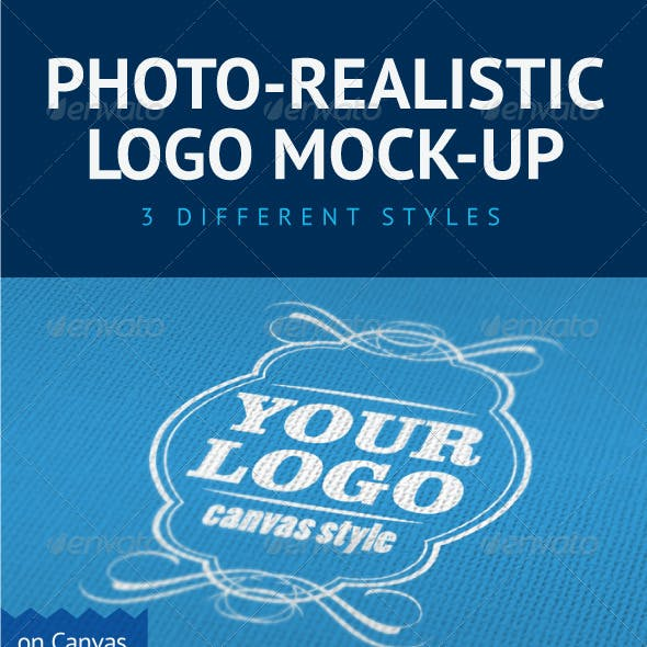 Photo-Realistic Logo Mock-Up
