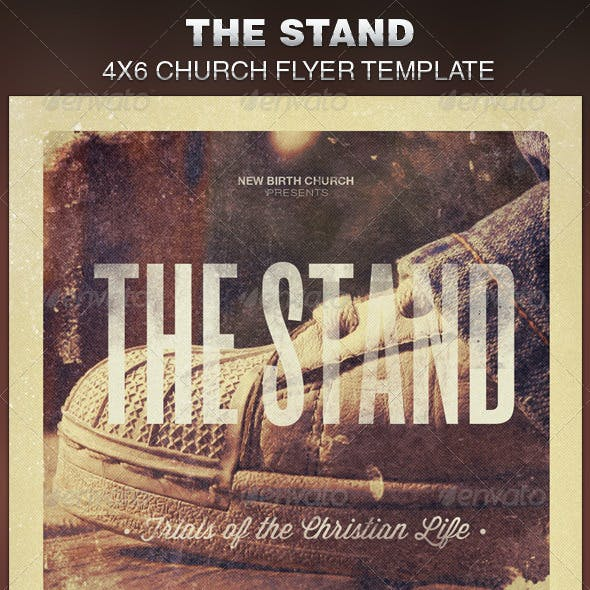 The Stand Church Flyer Template