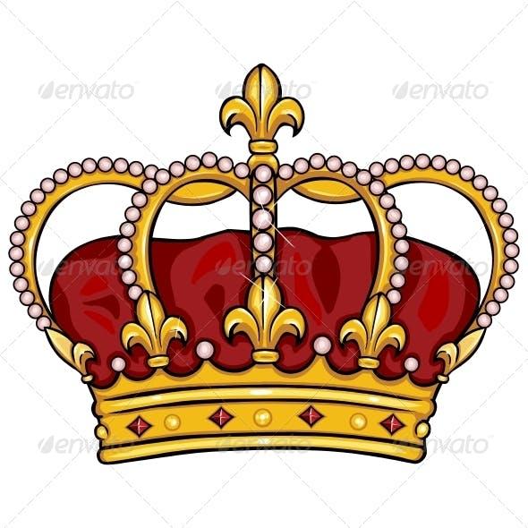 Cartoon Royal Crown