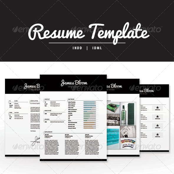 Resume Template INDD