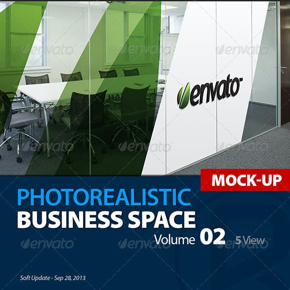 Mock-up Logo 3D_Business Space_Vol.2_Richhunter