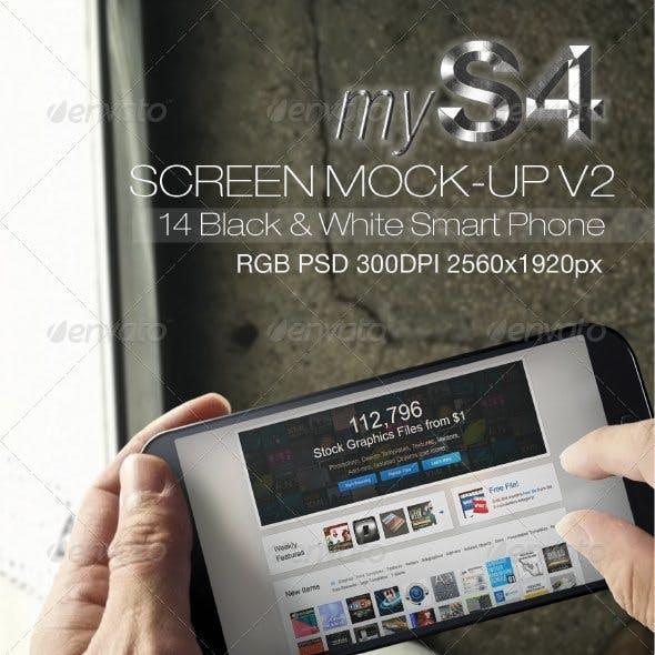 MyS4 Screen Mock-ups v2