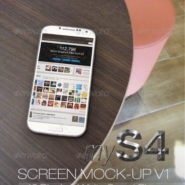 MyS4 screen mock-ups v1