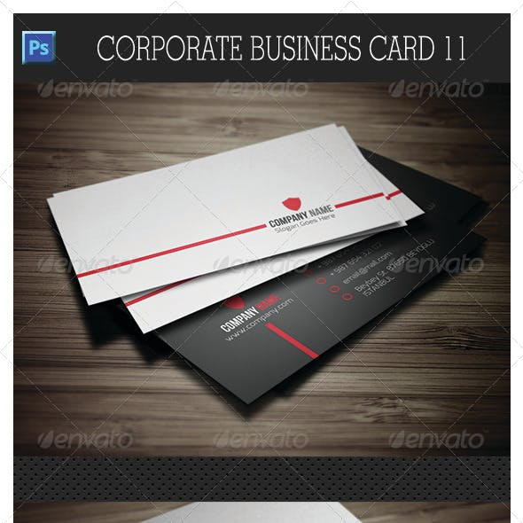 Corporate Business Card 11