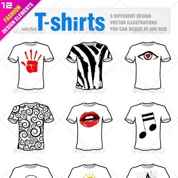 9 T-Shirt Design
