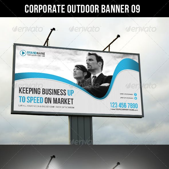 Corporate Outdoor Banner 11