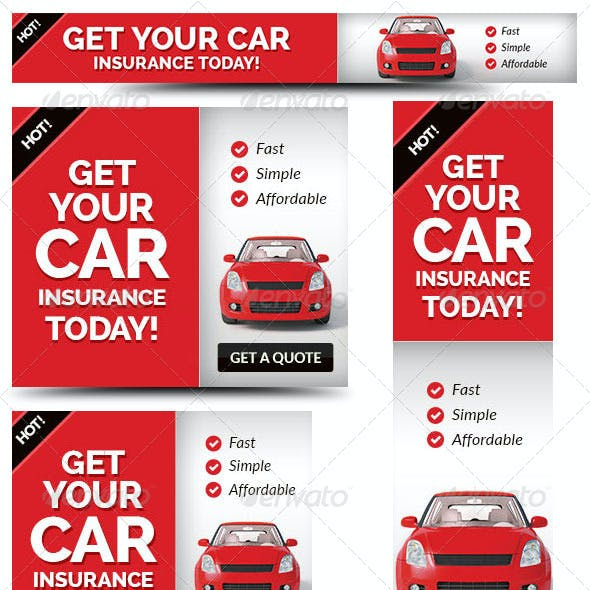 Cheap Car Insurance Web Banner Ad