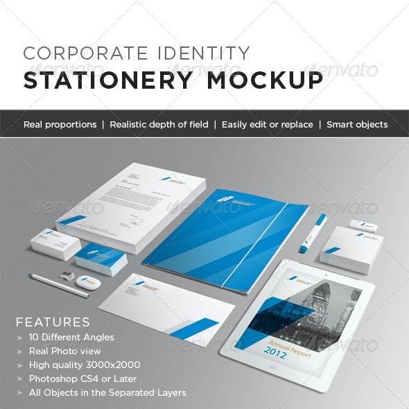 Photorealistic Stationery Mock-up