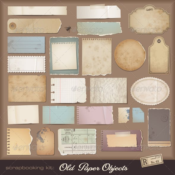 Vintage Paper Objects