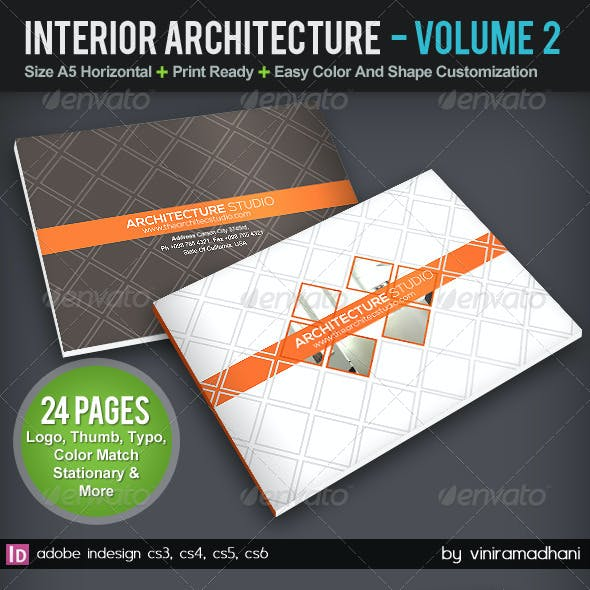 Interior Achitecture Brochure | Volume 2