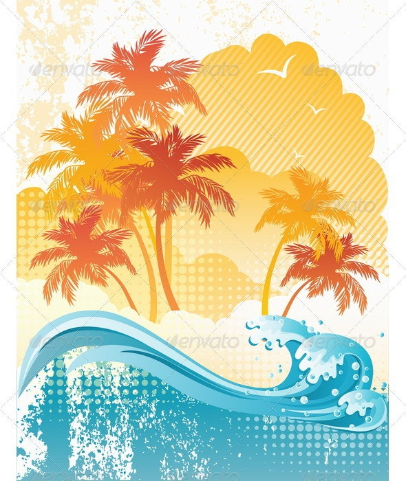 Beach - Backgrounds Decorative