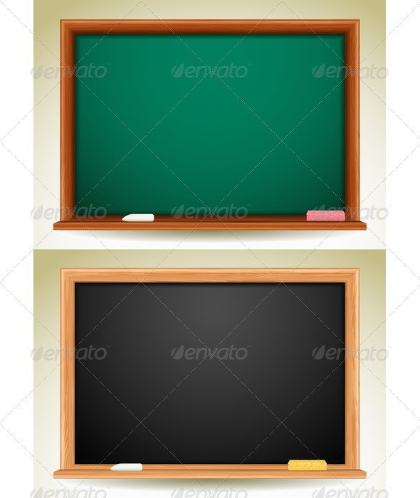 Blackboard - Backgrounds Decorative