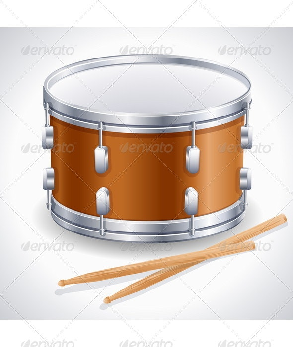 Drum - Man-made Objects Objects