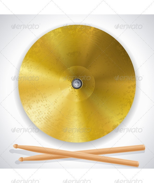 Cymbal - Man-made Objects Objects