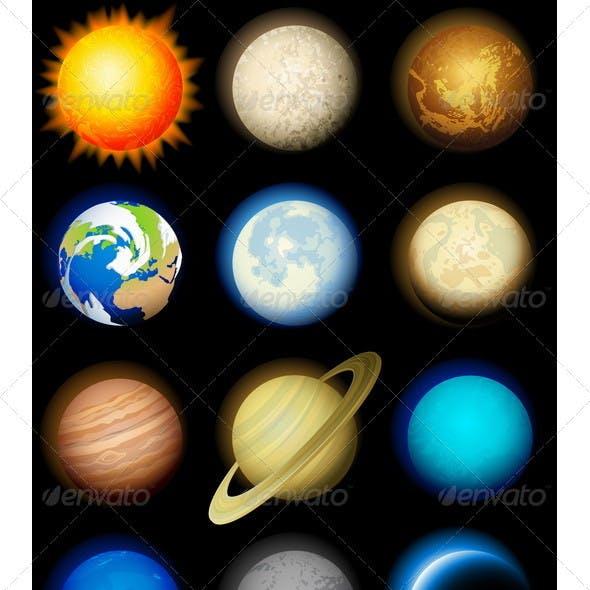 Planets Icon