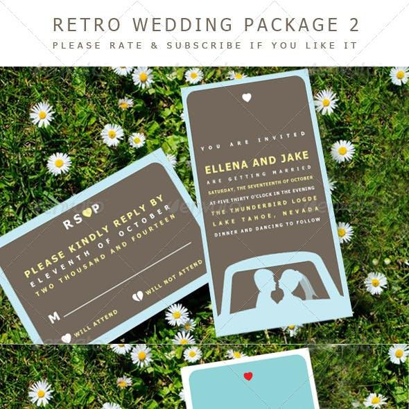Retro Wedding 2