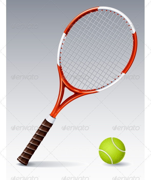Tennis Racket - Sports/Activity Conceptual
