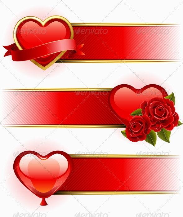 Valentine's Day  banners - Valentines Seasons/Holidays