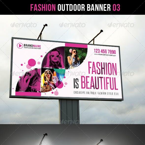 Fashion Outdoor Banner 03