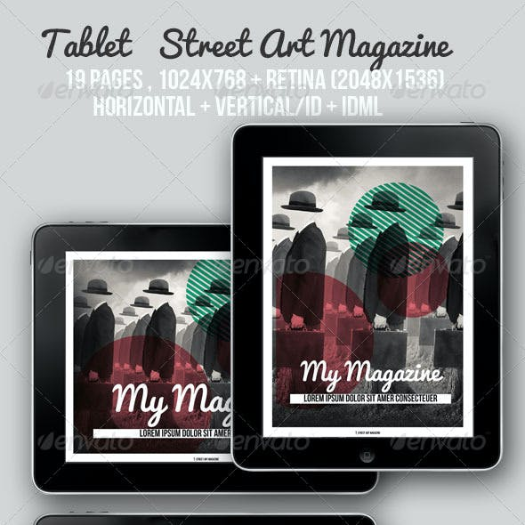 iPad & Tablet Street Art Magazine
