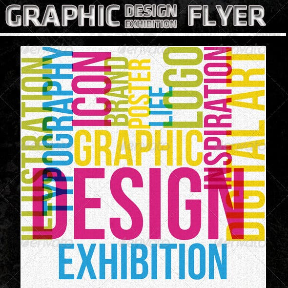 Graphic Design Exhibition Flyer/Poster