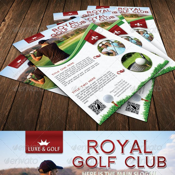 Golf Flyer Template 07
