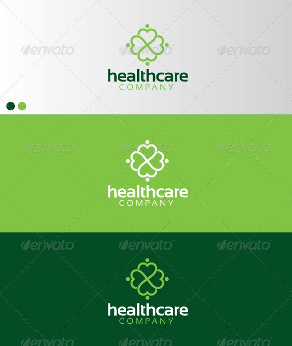 Healthcare - Humans Logo Templates