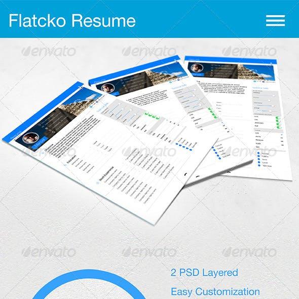 Flatcko Resume