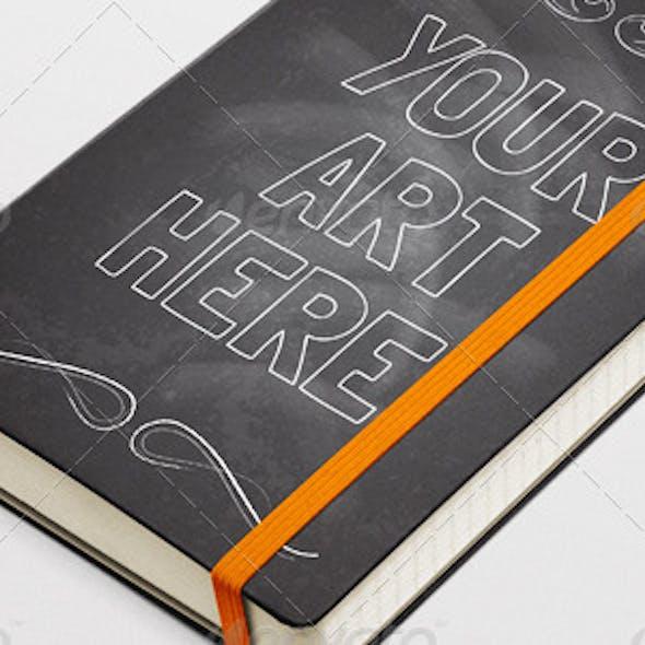 Moleskin Notebook Mock-Up