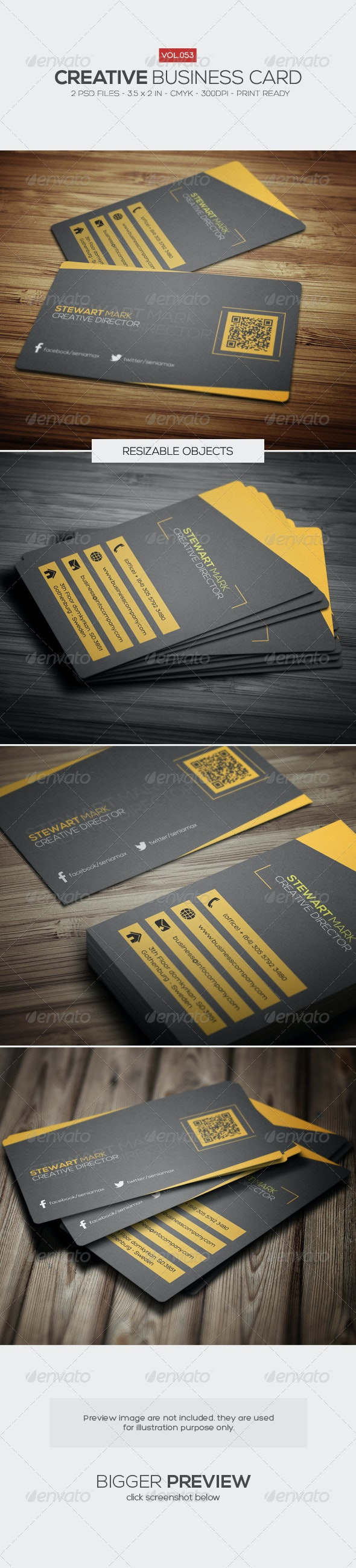 Creative Business Card 053 - Creative Business Cards