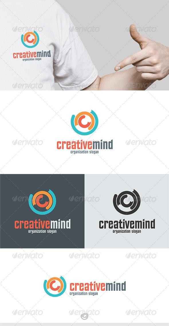 Creative Mind Logo - Vector Abstract