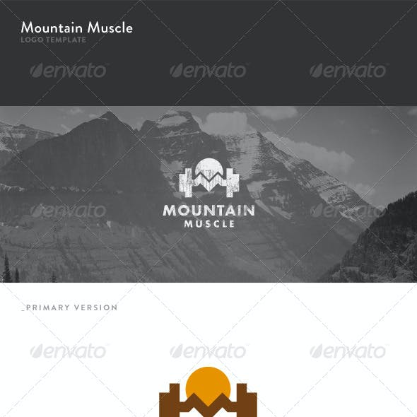 Mountain Muscle Logo