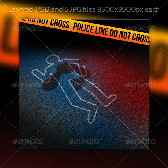 Murder Crime Scene Background
