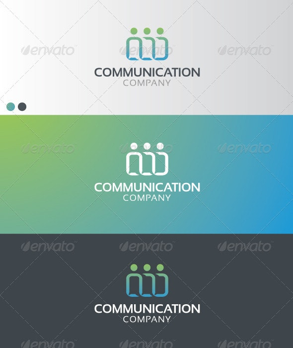COMMUNICATION COMPANY  - Company Logo Templates