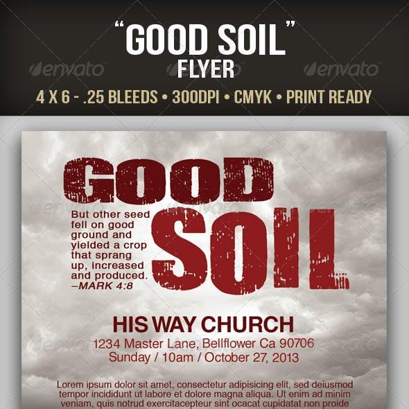Good Soil Flyer Template