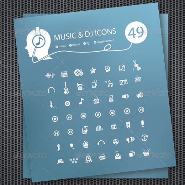 49 Music & DJ Icons
