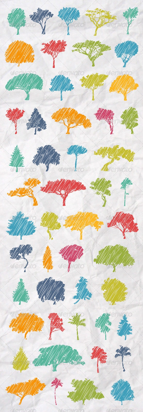 51 Skechy Trees Collection - Flowers & Plants Nature