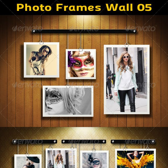 Photo Frames Wall 05