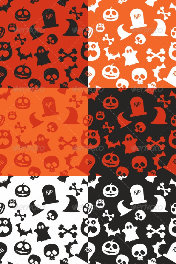 Halloween Pattern - Patterns Decorative