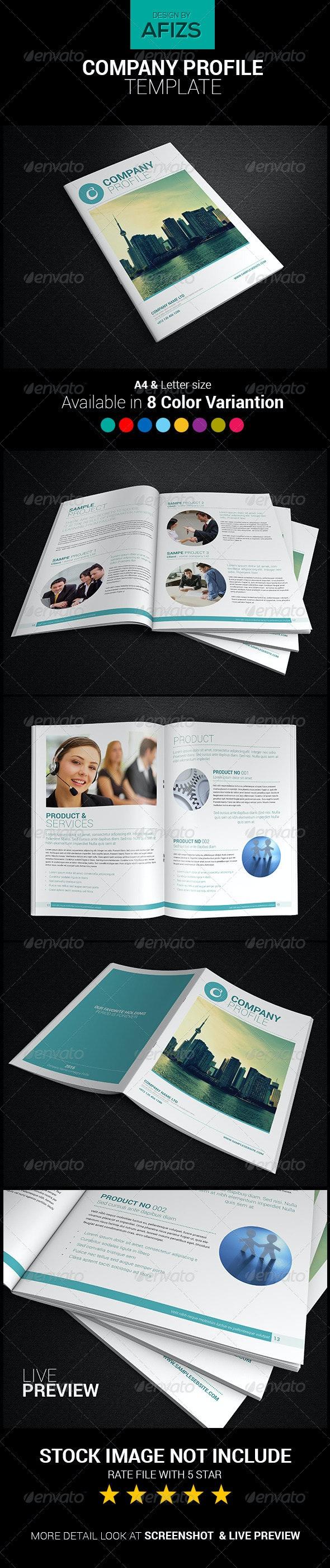 Professional Company Profile - Corporate Brochures