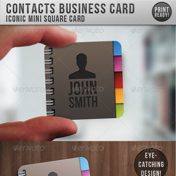 Contacts Business Card