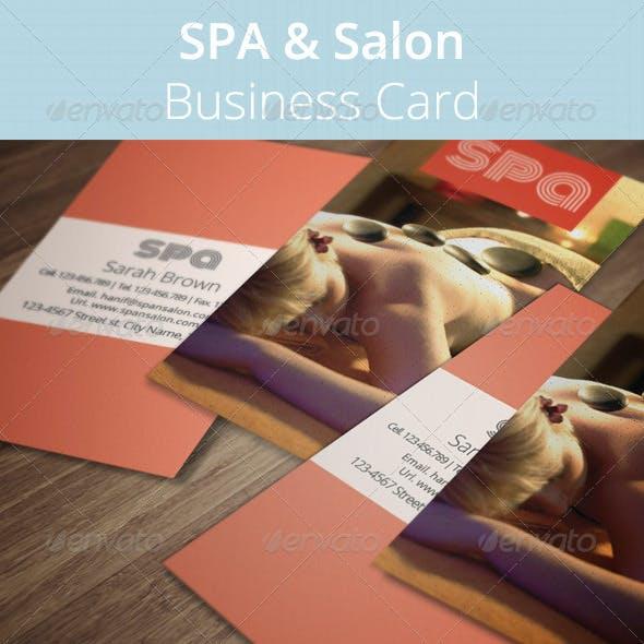 SPA & Salon Business Card
