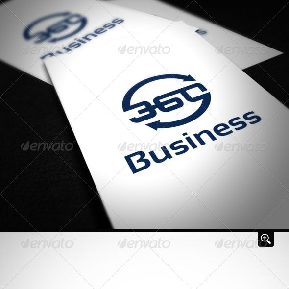 Business 360 Logo Template