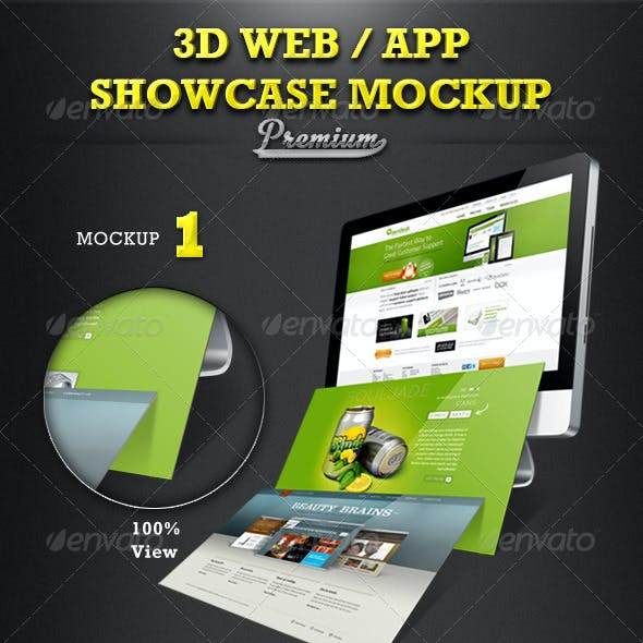 Web / App Showcase Mockup