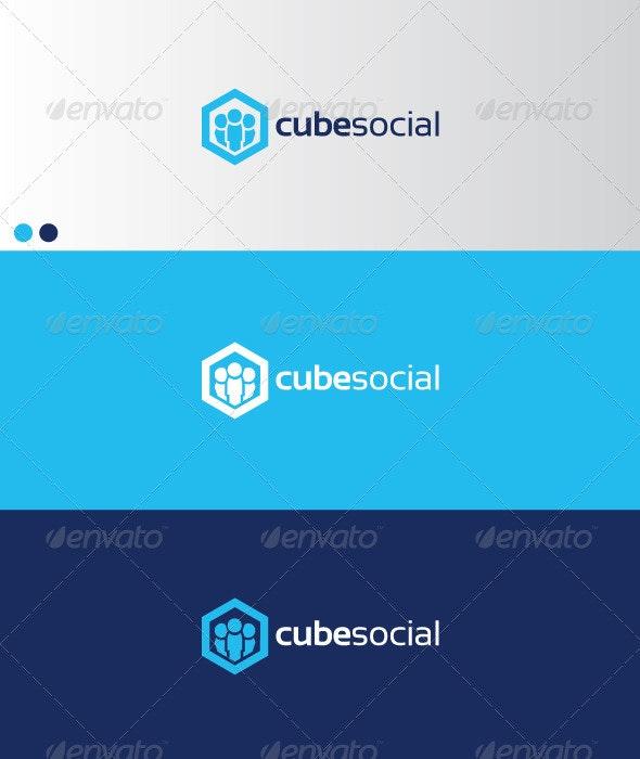 cubesocial - Symbols Logo Templates