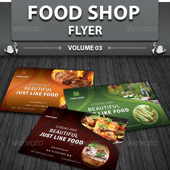 Restaurant Business Flyer   Volume 13